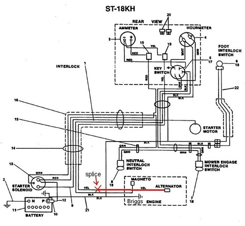 Simplicity Ignition Switch Wiring Diagram, Simplicity