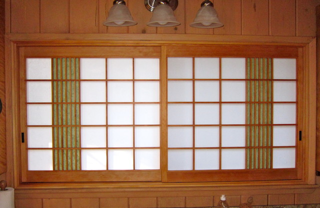 Custom Japanese Shoji Screens  Asian  Kitchen  San Francisco  by Pacific Shoji Works