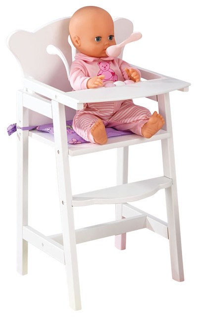 kidkraft doll high chair the silver summary - kids children home indoor pretend play toy lil' & reviews ...
