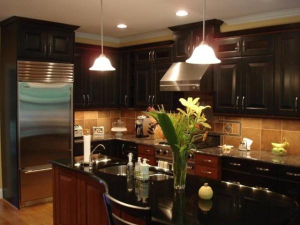warm kitchen design Warm and Modern Kitchen Design in Raleigh - Modern - Kitchen - Raleigh - by JeanE Kitchen and