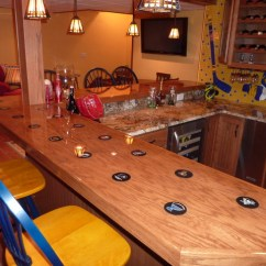 Kitchen Remodeling St Louis Wall Cabinet Sizes For Cabinets Sports Themed Bar - Eclectic Basement By C ...
