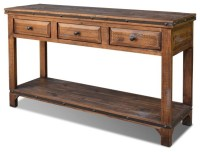 Solid Wood Sofa Table Summerhill Woodworking Shaker Style