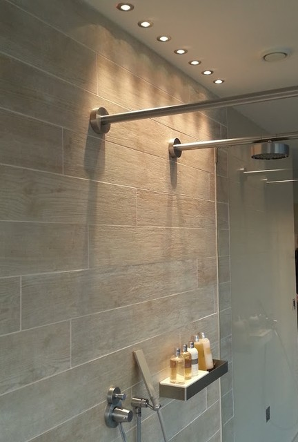 houzz living rooms with sectionals arabic room set shower lights at the lakes - contemporary bathroom ...