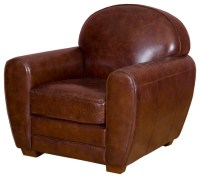 Leather Armchair - Traditional - Armchairs & Accent Chairs ...