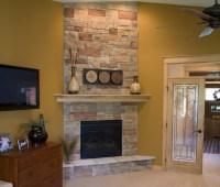Sangria Tolono Bedroom Fireplace - Traditional - Bedroom ...