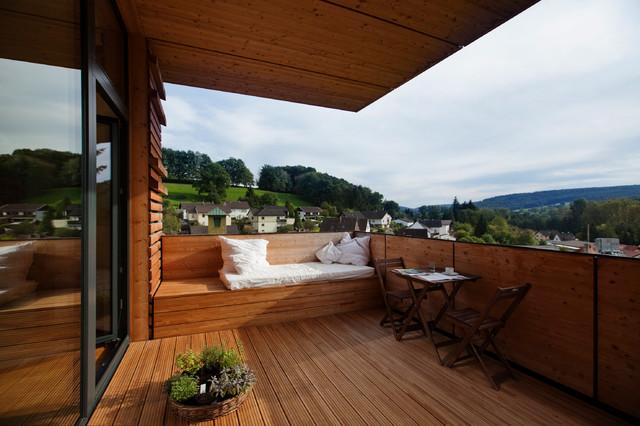 Rustikal Terrasse  Balkon