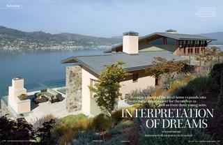 California HOME DESIGN Magazine Contemporain Jardin San