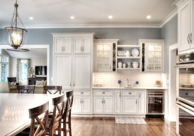 Home Addition Transitional Kitchen Kansas City By L Marie