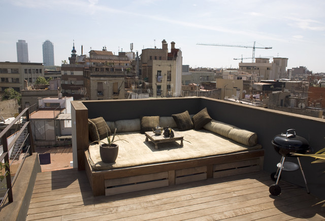 Barcelona House contemporary-deck