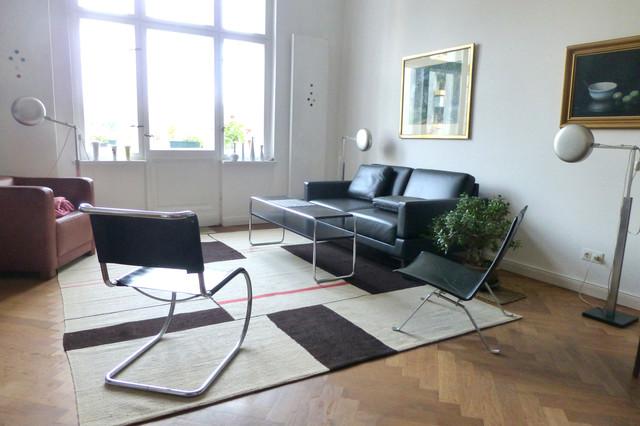 Kelim im Wohnbereich im Bauhausstil in schner