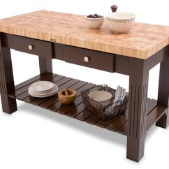 John Boos Kitchen Island Custom Built Cabinets Maple End Grain Grazzi With French Roast Base Contemporary Islands And Carts By Florence Adams