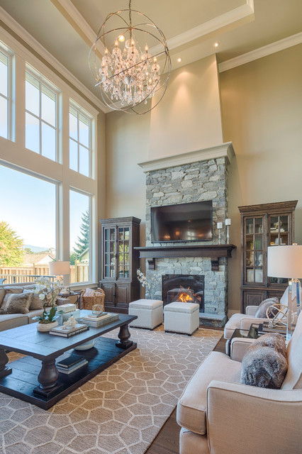 New West Classic traditional-living-room