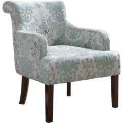 Teal Club Chair Office Gas Cylinder Living Room Accent Arm Chair, And Light Blue - Transitional Armchairs Chairs ...