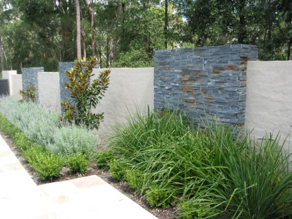 feature wall - contemporary landscape