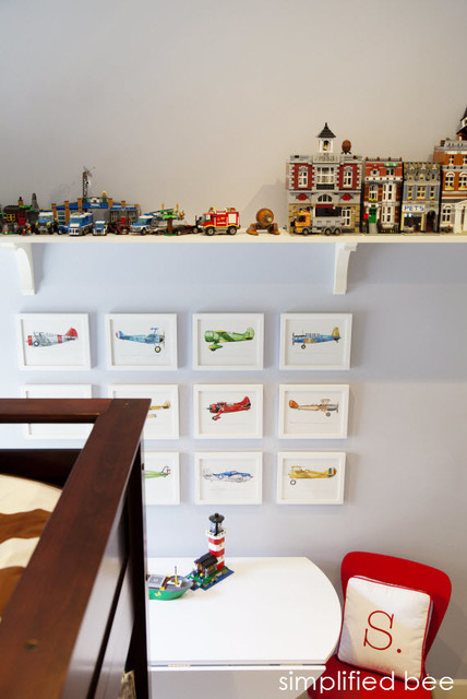 Boy's Bedroom traditional-kids
