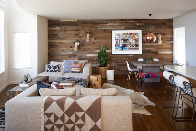 Potrero Hill Bohème southwestern-living-room
