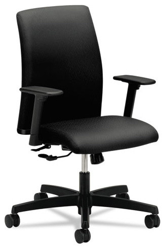 HON Ignition Series LowBack Task Chair Black Fabric