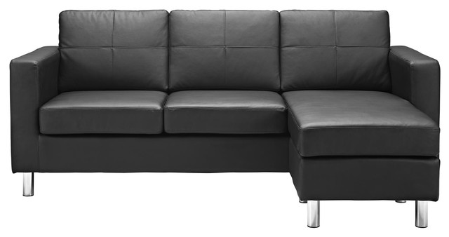 small es configurable sectional sofa black tufted sofas clearance spaces contemporary by furniture gallerie