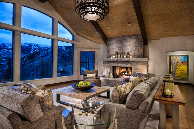 Horse Ranch  Contemporary  Living Room  denver  by