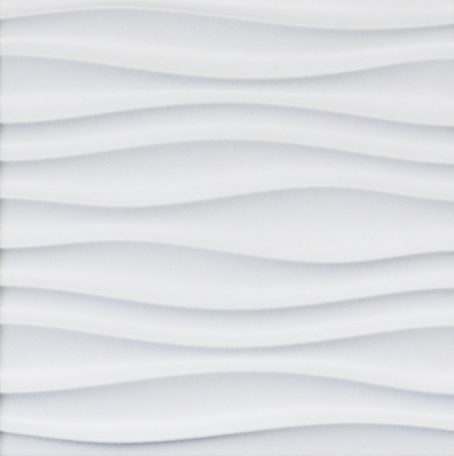 3D Wall Styling Panel Waves Texture 16 Piece