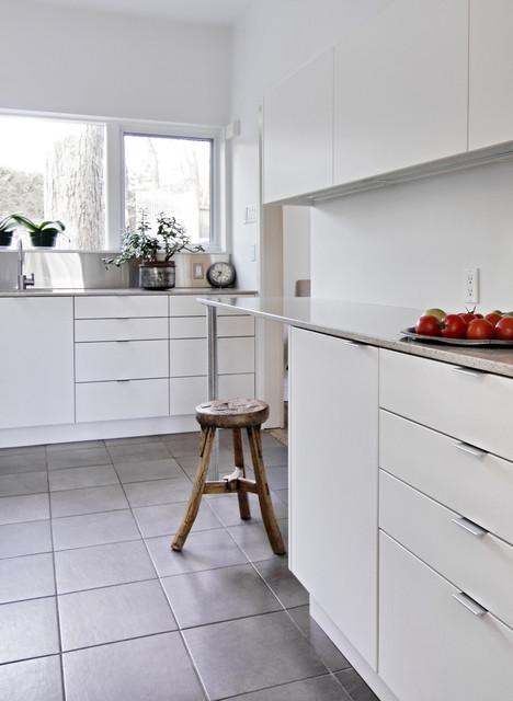 White and Light  Modern  Kitchen  Ottawa  by Handwerk