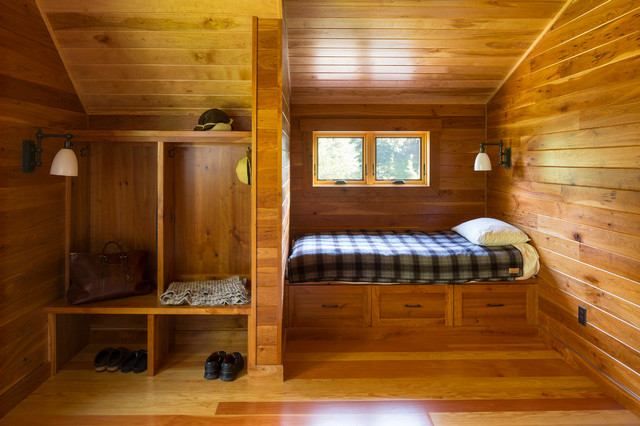 Trout Fishing Cabin  Rustic  Bedroom  Minneapolis  by