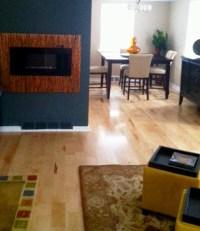 Maple Hardwood Flooring - Contemporary - Living Room ...