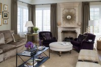 Glamorous Living - Traditional - Living Room - Chicago ...
