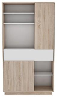 Sugar Kitchen Cabinet Large Modern Kitchen Cupboard Organisers By Meubles Demeyere Houzz Uk