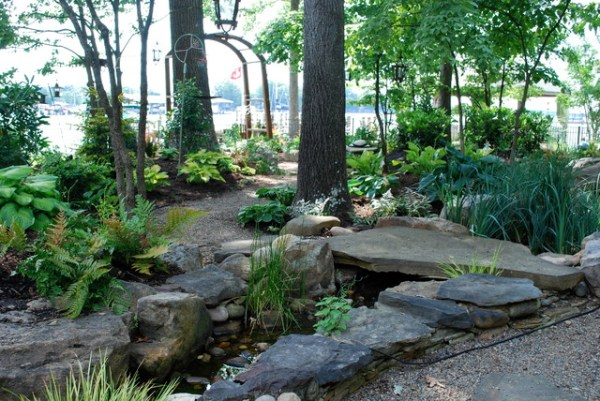 woodland garden reno lake
