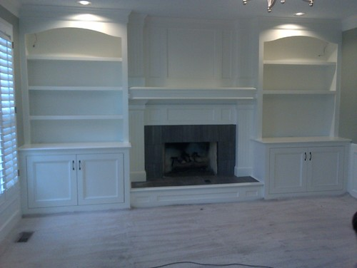 What Is The Cost For Custom Built In Bookshelves Around A