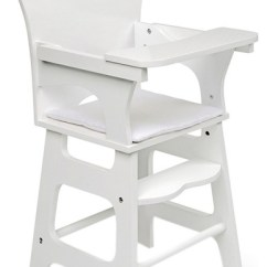 Badger Basket High Chair Graco 4 In 1 Co White Rose Doll Contemporary Chairs And Booster Seats By Clickhere2shop