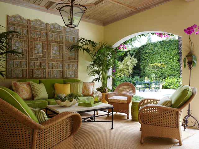 Palm Beach Loggia Tropical Patio Miami By Brantley