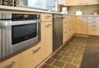 classic contemporary maple - Contemporary - Kitchen ...