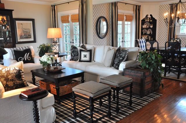A Coronado Cottage Contemporary Living Room San