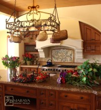 Tuscan Hood - Farmhouse - Kitchen - Santa Barbara - by ...