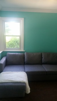 Help decorating Tiffany blue wall color!