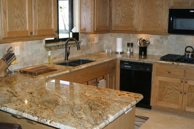 Granite Installations  Traditional  Kitchen  Oklahoma