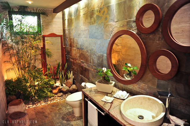 Garden Bathroom Tropical Bathroom Other By Nefer Garcia
