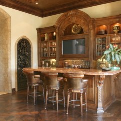 San Diego Kitchen Remodel Wall Art Wet Bar - Mediterranean Family Room By ...