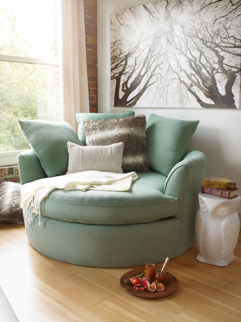 Cozy Nest Chair Transitional Living Room Other By Urban Barn