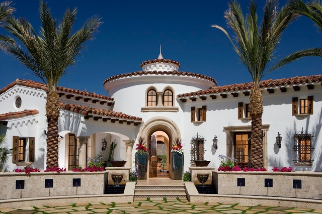 A Spanish Revival Spanish Colonial Mediterranean Exterior Orange County By South Coast