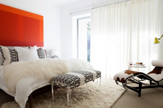 Beechwood Modern Home contemporain-chambre