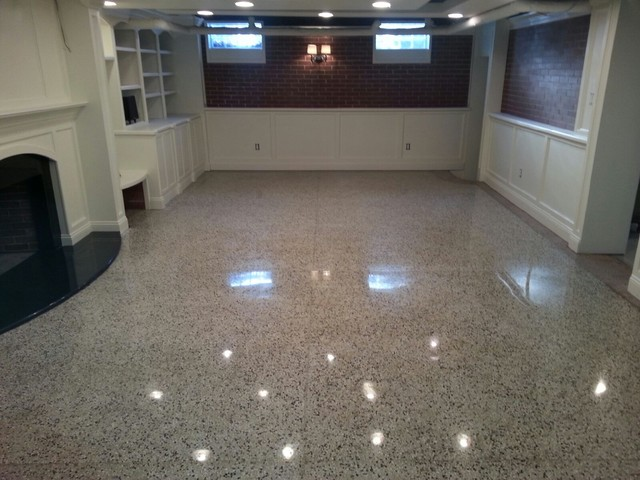 kitchen hoods for sale redo countertops terrazzo refinishing/restoration - modern basement ...