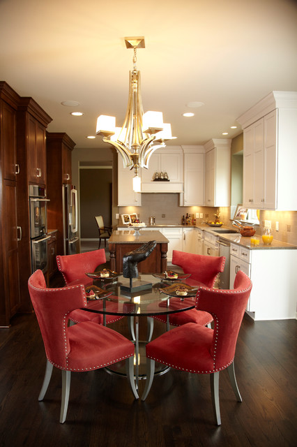 Glamorous  Traditional  Kitchen  Minneapolis  by Jaque