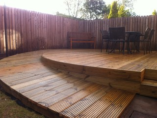 Wheelchair Ramp and Decking