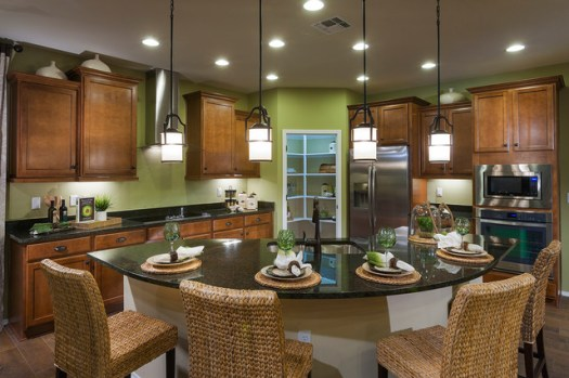 Pulte Homes Essence Model Home Vail Arizona Contemporary Kitchen