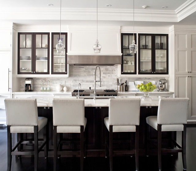City Homes transitional-kitchen