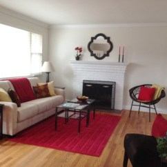 Staging A Living Room Interior Paint Colors 7 Home Tricks To Make Small Look Bigger Photo By Goode Start Decorating