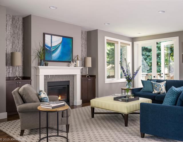 Queen Anne Home  Transitional  Living Room  Seattle